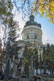 Historisk kyrkogård Royaltyfri Fotografi