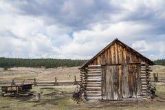 Historisk lantgård för Hornbeck hemmanColorado ranch royaltyfri foto