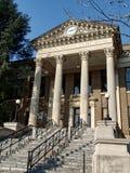 Historisk Limestone County Alabama domstolsbyggnad Arkivbilder