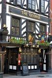 historisk london pub Royaltyfria Foton
