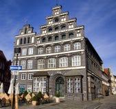 historisk lueneburg för byggnadskammarekommers royaltyfri fotografi