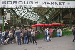 historisk marknad för stad Royaltyfri Foto