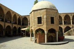 historisk marknadsplats Arkivbilder