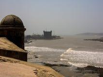 historisk Marocko för essaouiramonument fästning Arkivbilder