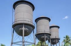 Historisk minnesmärke för Tres Caixas D `-agua i Porto Velho RO Royaltyfri Bild