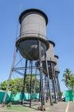 Historisk minnesmärke för Tres Caixas D `-agua i Porto Velho RO Arkivbilder