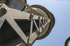 Historisk minnesmärke för Tres Caixas D `-agua i Porto Velho RO Royaltyfria Bilder