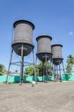 Historisk minnesmärke för Tres Caixas D `-agua i Porto Velho RO Arkivbild
