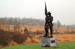 Historisk minnesmärke på den Gettysburg slagfältet Royaltyfri Fotografi