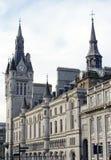 Historisk mitt av Aberdeen, Skottland Arkivbilder