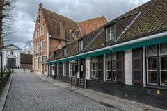 Historisk mitt av Brugge, Belgien Royaltyfria Foton