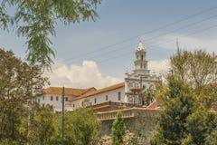 Historisk mitt av Cuenca, Ecuador Royaltyfria Bilder