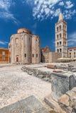 Historisk mitt av den kroatiska staden av Zadar Royaltyfria Foton