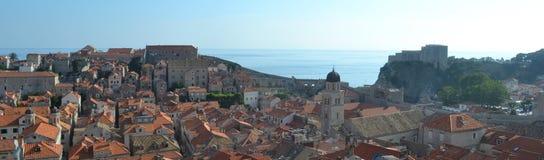 Historisk mitt av Dubrovnik Fotografering för Bildbyråer