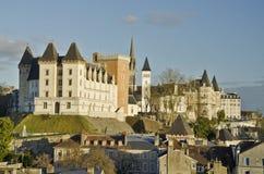 Historisk mitt av Pau, huvudstad av Bearn Royaltyfri Bild