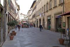 Historisk mitt av Volterra, Tuscany, Italien Royaltyfria Foton