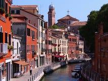 Historisk mitt - Venedig Arkivfoto