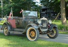 Historisk 1929 modell A Ford Royaltyfria Foton
