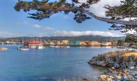 Historisk Monterey hamn och marina Royaltyfri Fotografi