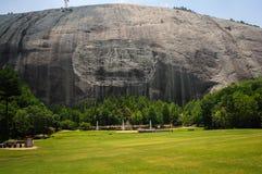 Historisk monument för stenberg i Atlanta Georgia USA Arkivfoton