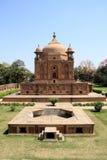 Historisk monument i Allahabad, Indien arkivbilder
