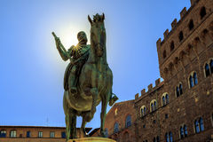 Historisk monument i Florence Arkivfoton