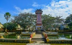 Historisk monument i Hoi An, Vietnam arkivfoton