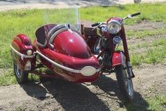 historisk motorcykel Arkivfoton