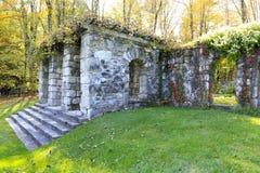Historisk museumherrgård i Lenox, MOR. Monteringen. Royaltyfri Fotografi