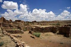 historisk nationalpark för chacokultur Arkivbild