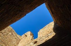 historisk nationalpark för chacokultur Arkivfoto