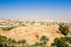 Historisk och modern stad av Jericho, Palestina fotografering för bildbyråer