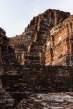 historisk park för ayutthaya Arkivfoto