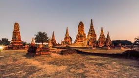 historisk park för ayutthaya royaltyfri foto