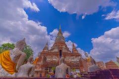 historisk park för ayutthaya thailand Royaltyfria Bilder