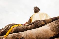 historisk park för forntida ayutthaya Royaltyfria Foton