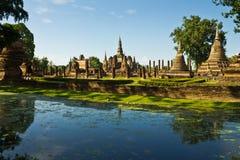 historisk park thailand fotografering för bildbyråer