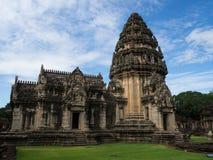 historisk parkphimai Prasat Hin Phimai thailändska Nakhon Ratchasima Royaltyfri Foto
