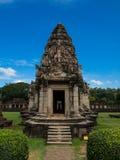 historisk parkphimai Prasat Hin Phimai thailändska Nakhon Ratchasima Fotografering för Bildbyråer