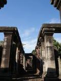 historisk parkphimai Prasat Hin Phimai thailändska Nakhon Ratchasima Royaltyfri Fotografi