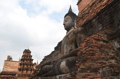 historisk parksukhothai thailand Arkivbilder