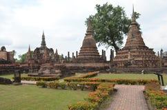 historisk parksukhothai thailand Royaltyfria Foton
