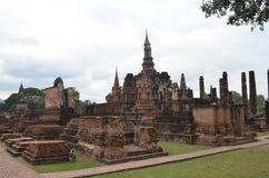 historisk parksukhothai thailand Royaltyfri Foto