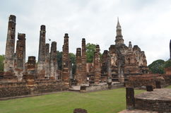 historisk parksukhothai thailand Fotografering för Bildbyråer