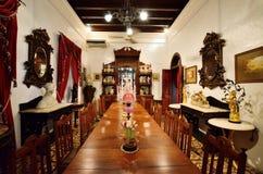 Historisk Pinang Peranakan herrgård i Georgetown, Penang Royaltyfria Foton
