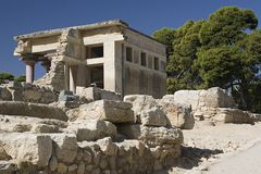 Knossos fotografering för bildbyråer