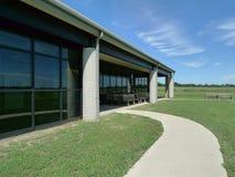 Historisk plats för min liten vikslagfälttillstånd, Pleasanton, KS Royaltyfri Foto