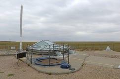 Historisk plats för Minutemanmissilsilo i South Dakota arkivbild