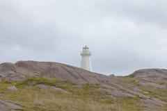 Historisk plats NL Kanada för nytt fyruddespjut Royaltyfria Foton