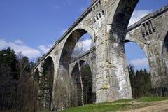 historisk pont Fotografering för Bildbyråer
